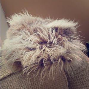 🍁Amazing Vintage Faux Fur Hat